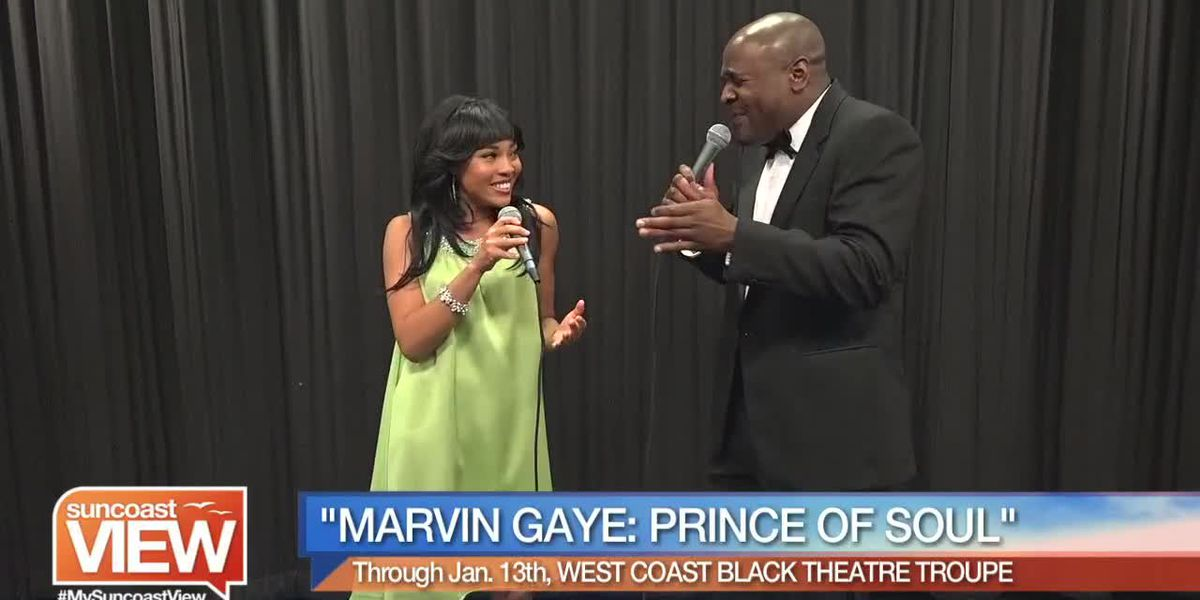 "West Coast Black Theatre Previews ""Marvin Gaye: Prince of Soul"" 