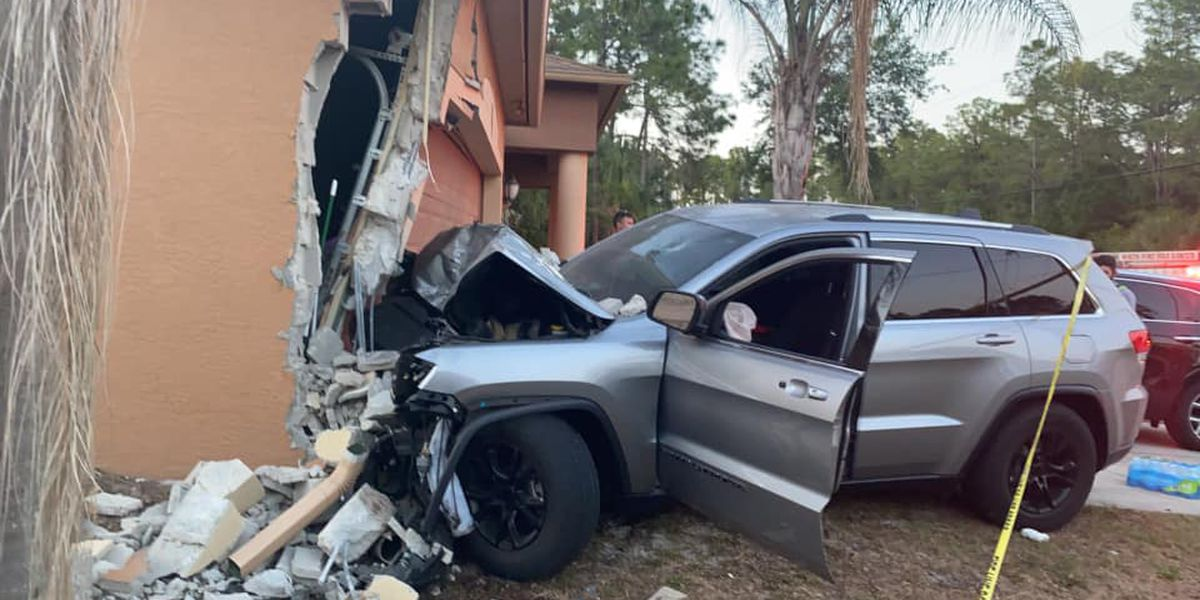 1 arrested for DUI after crashing into home in North Port