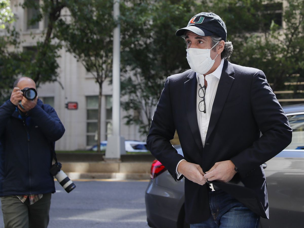 Ex-Trump lawyer Michael Cohen back in federal prison
