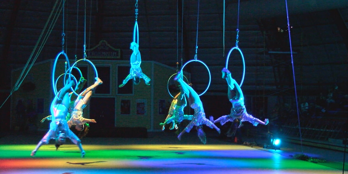 Sailor Circus performing in renovated arena this weekend