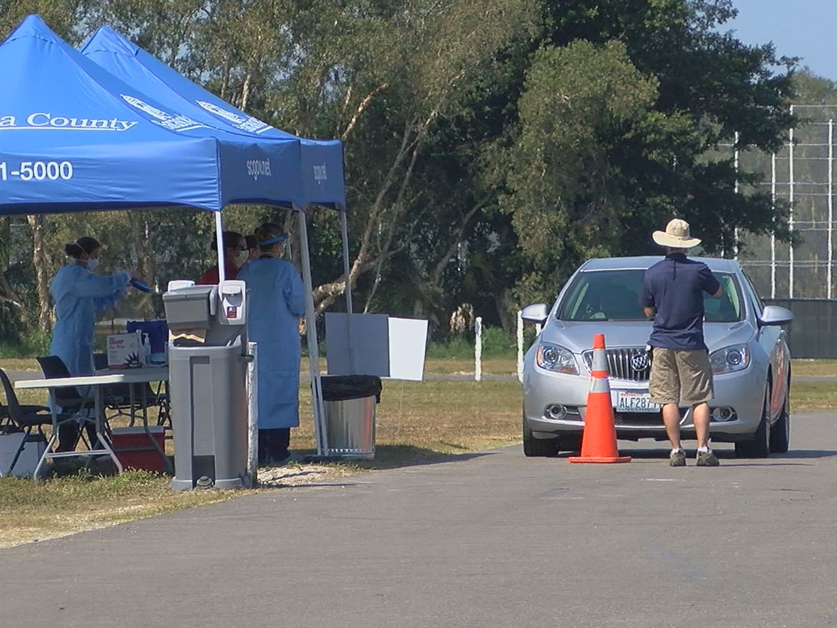 Sarasota County coronavirus drive-thru testing site to reopen on Tuesday