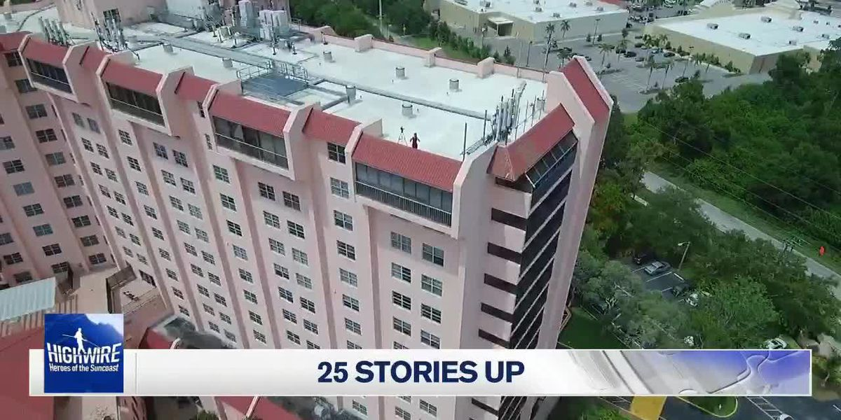 25 Stories Drone Footage