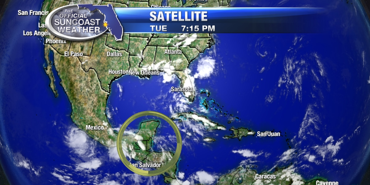 More showers today and Hurricane Center keeps watch on Gulf waters