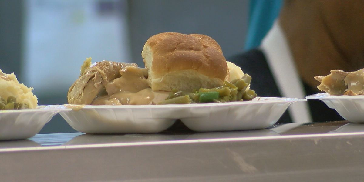 The Salvation Army providing free Thanksgiving meals