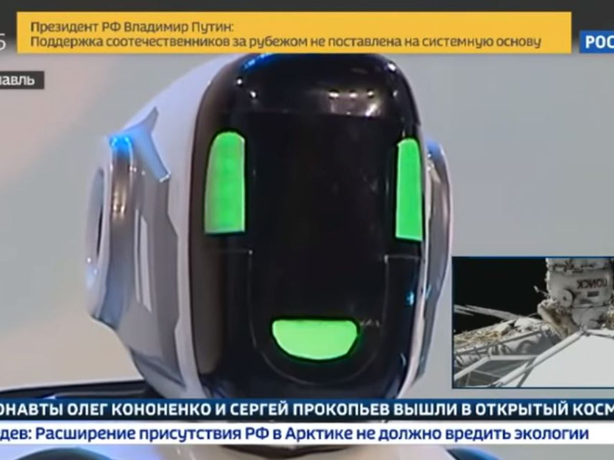 Unbelievably advanced robot unbelievable for a reason after it winds up being guy in a suit