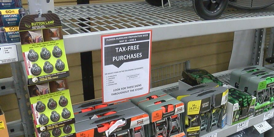 Everything you need to know about Florida's tax-free holiday on hurricane supplies
