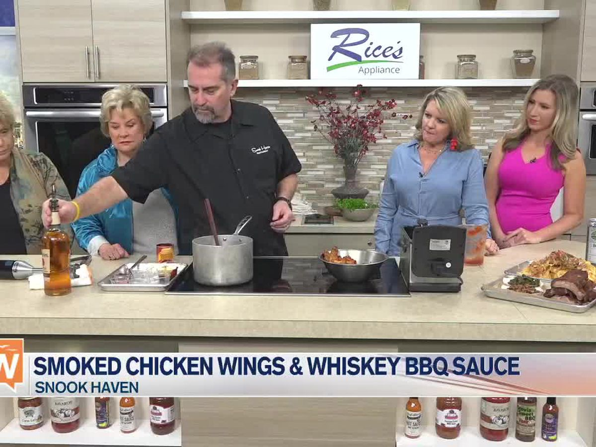 Smoked Chicken Wings with Snook Haven | Suncoast View
