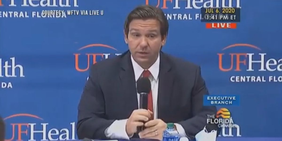Governor Ron DeSantis wants to increase anti-body testing for COVID-19, says new median age is now around 36-years-old