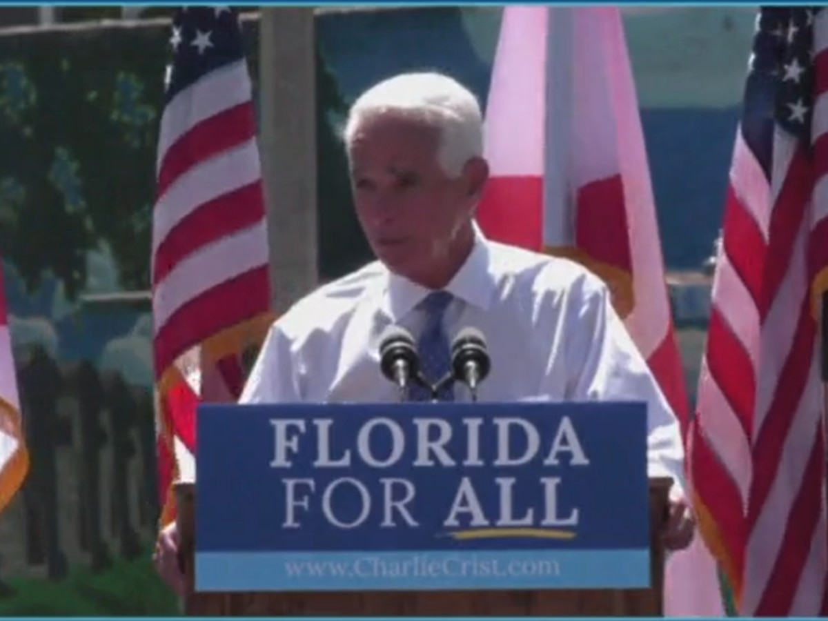 Crist launches campaign for governor; slams DeSantis on COVID response