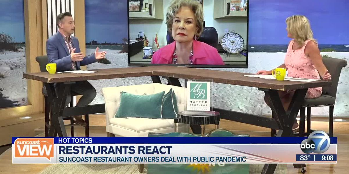 HOT TOPICS: Suncoast restaurants react to health updates, & What's next for theme parks?