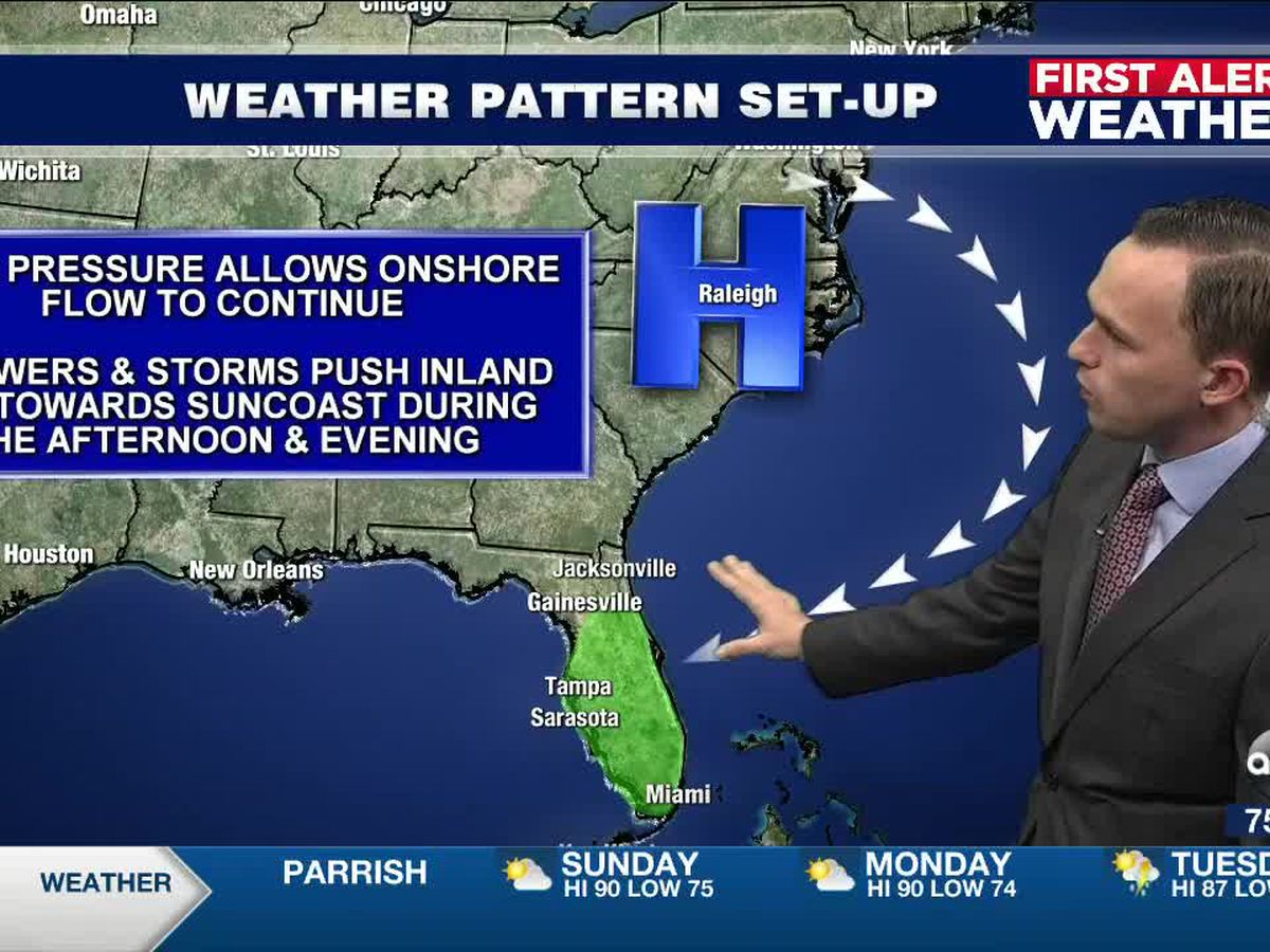 First Alert Weather: Saturday, October 17, 2020 - An increase in moisture brings a chance for scattered showers & storms tomorrow