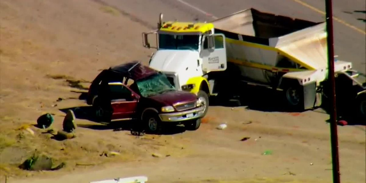 """A """"mass casualty"""" crash is under investigation in California"""