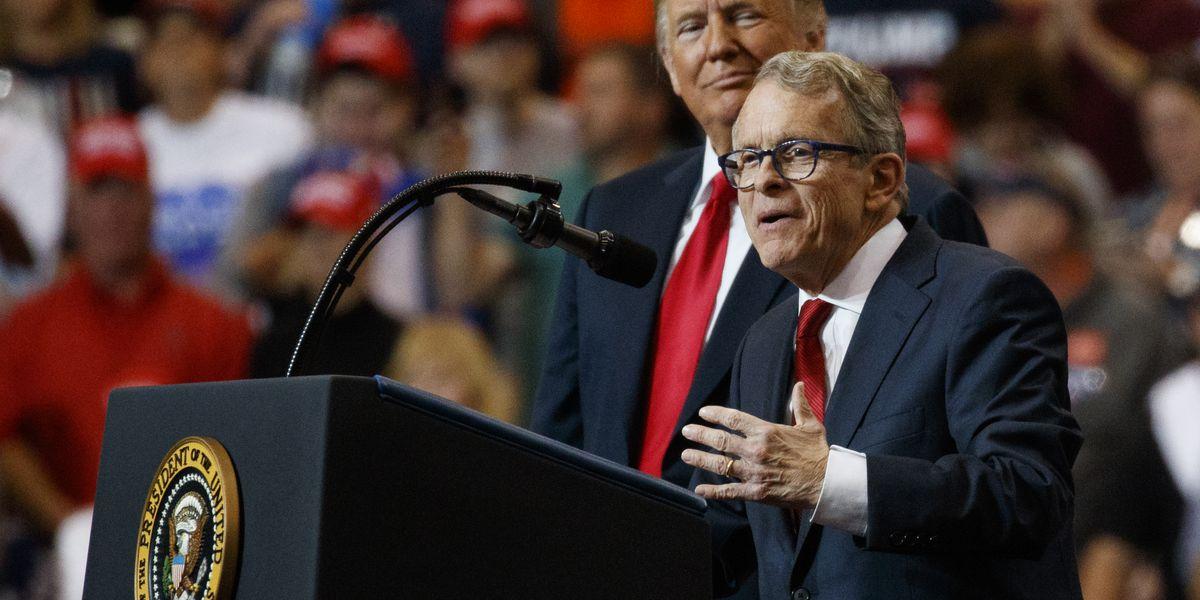 Ohio Gov. Mike DeWine tests negative after positive test before Trump visit