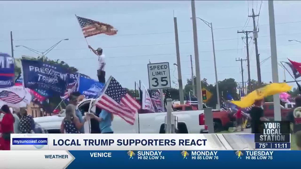 Local Trump Supporters React