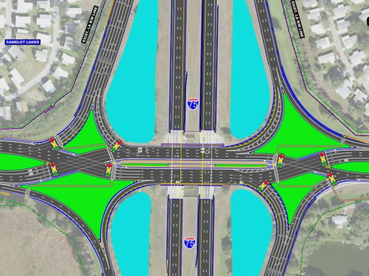 FDOT holds public meeting on diverging diamond project at I-75 and Clark Road in Sarasota