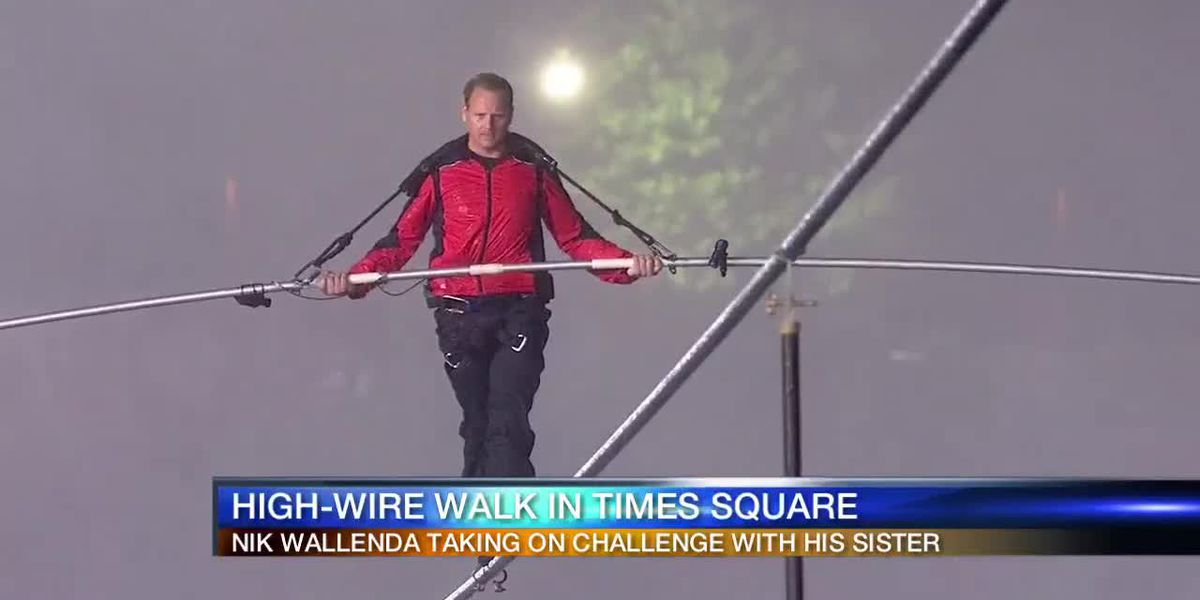 Nik Wallenda to high-wire walk in Times Square