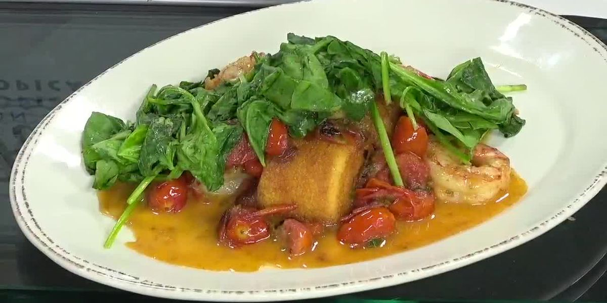 Southern Shrimp & Cornbread From Farlow's On The Water