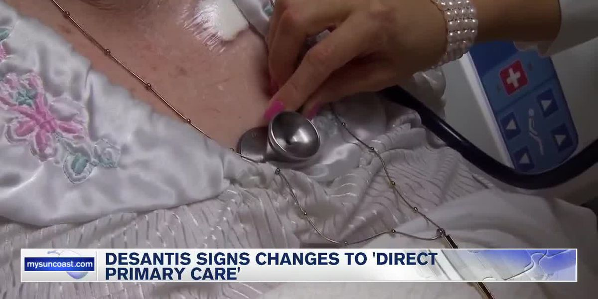 DeSantis signs changes to 'Direct Primary Care'