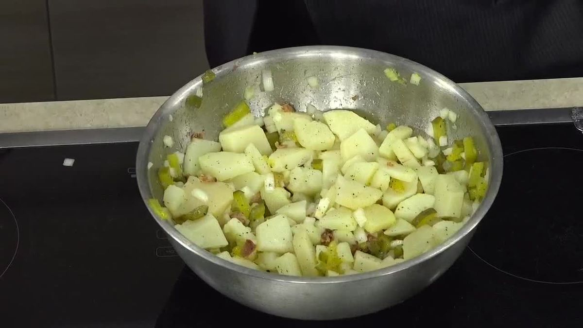 German Potato Salad From Curry Up
