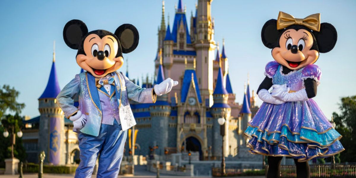 Disney World announces 50th anniversary celebration