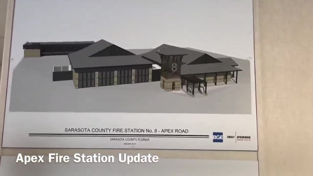 Apex Road Fire Station Update #TweetfromtheHeat