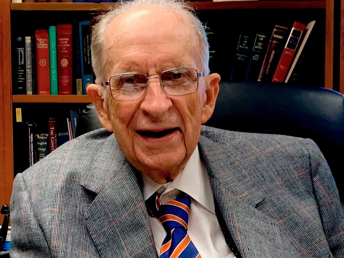 Thomas Reavley, oldest active federal judge, dies at 99