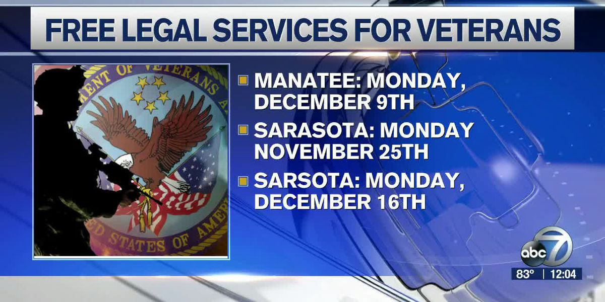 Free services being provided for veterans on the Suncoast