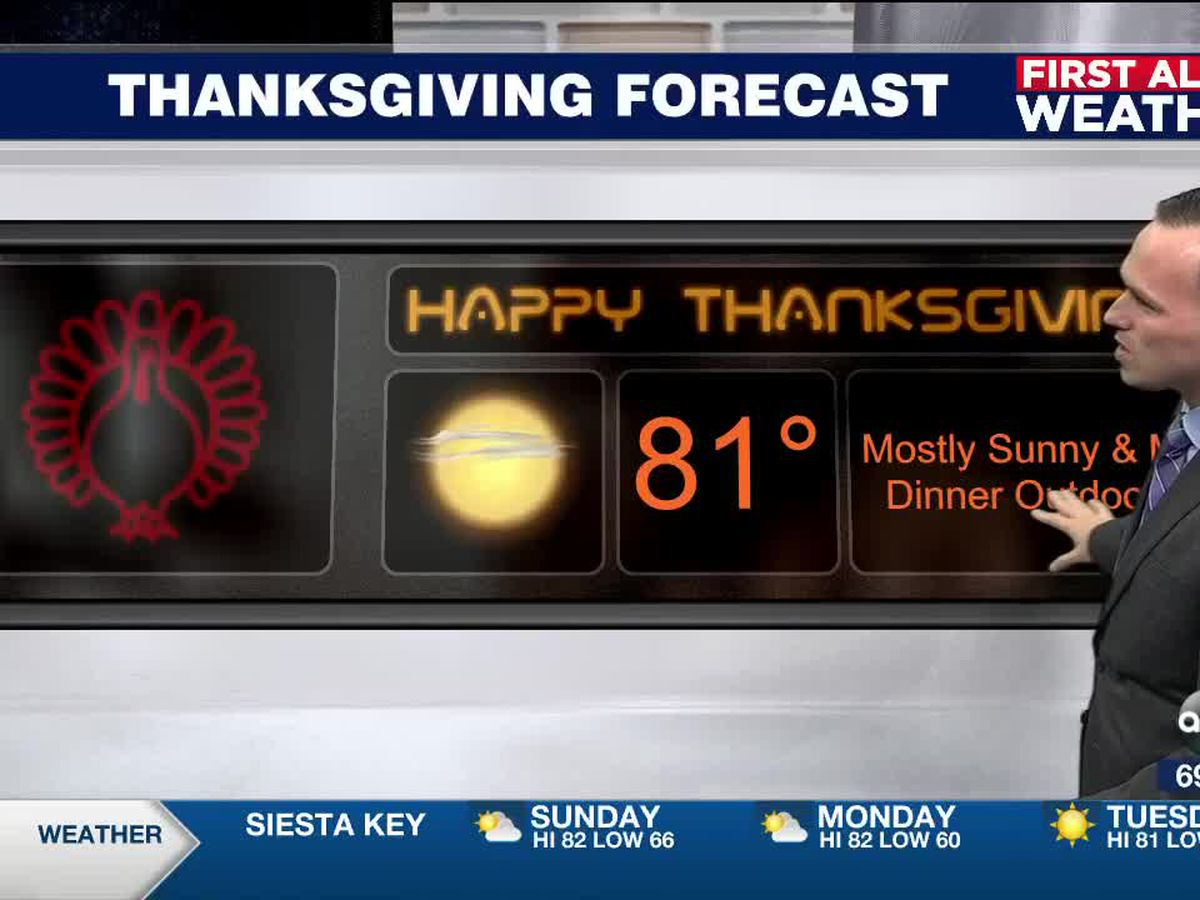 First Alert Weather: Saturday, November 21, 2020 - Isolated showers on Sunday and a weak cold front will arrive Monday evening