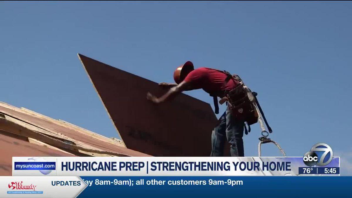 Hurricane Preparedness Week - Strengthening your home