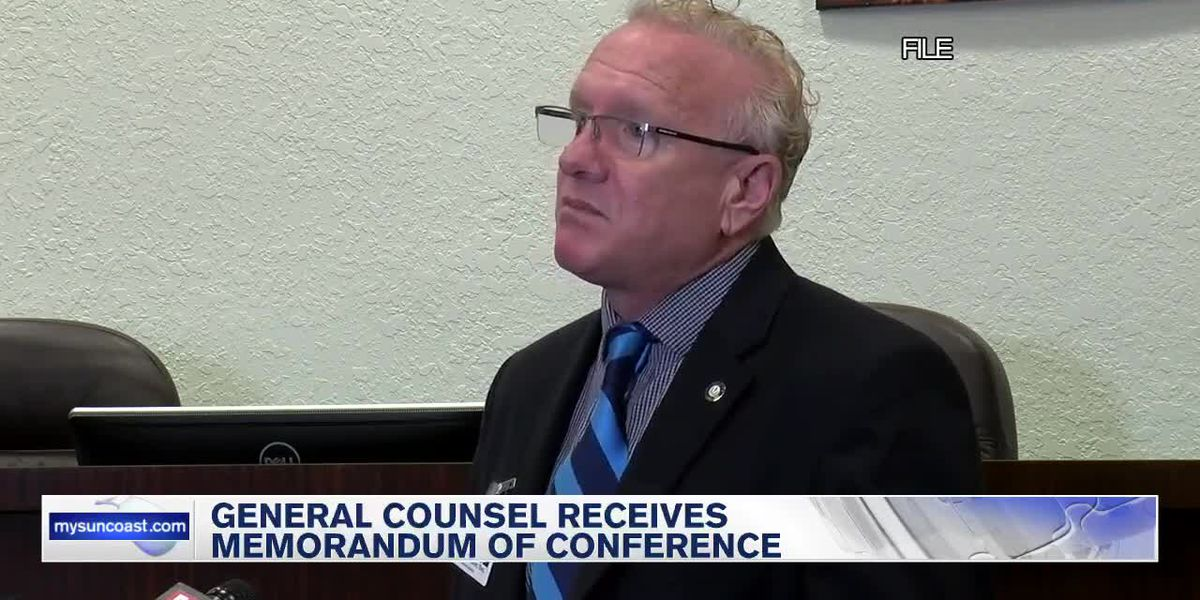 General Counsel Received Memorandum of Conference