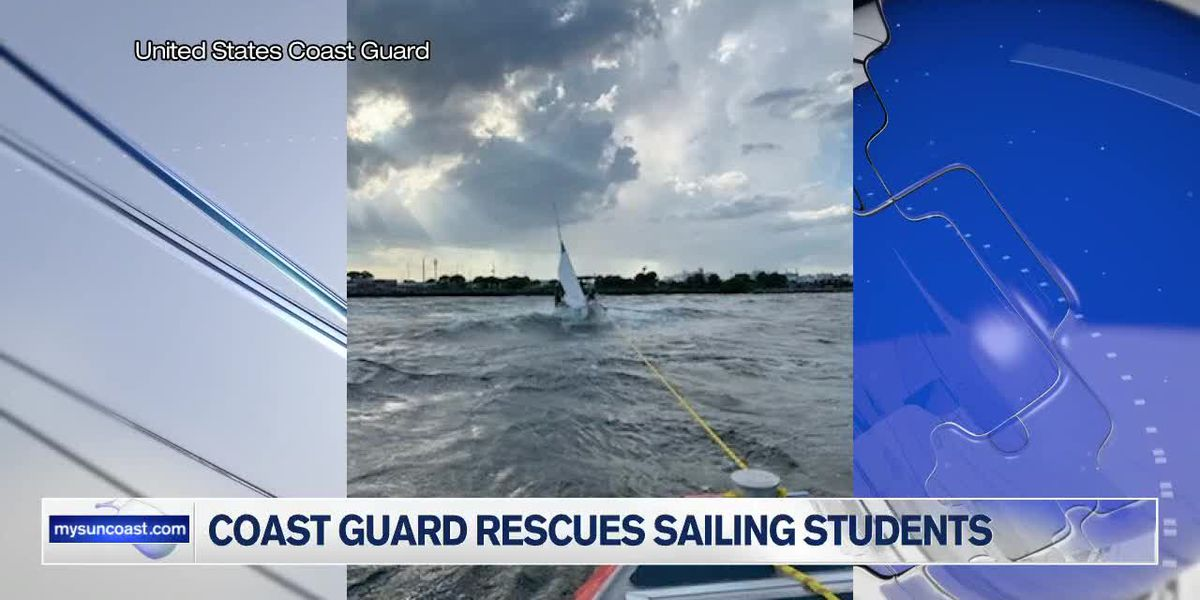 Coast Guard Rescues Sailing Students