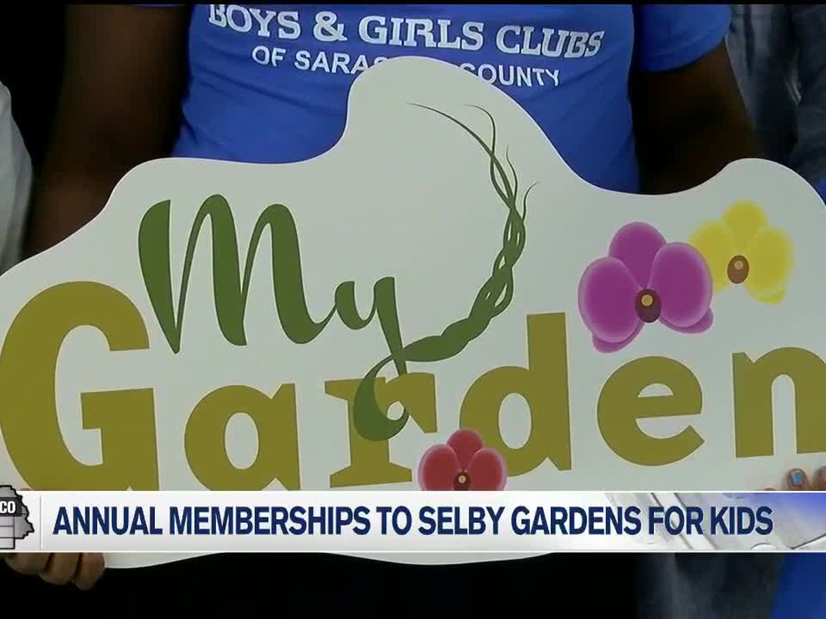 Annual memberships to Selby Gardens given to underprivileged kids