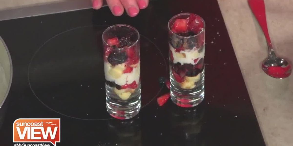 Petite English Trifle from Simply Gourmet Caterers | Suncoast View
