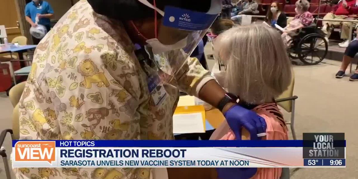 HOT TOPICS: Sarasota's new vaccine registration system & No Peloton bikes allowed at the White House | Suncoast View