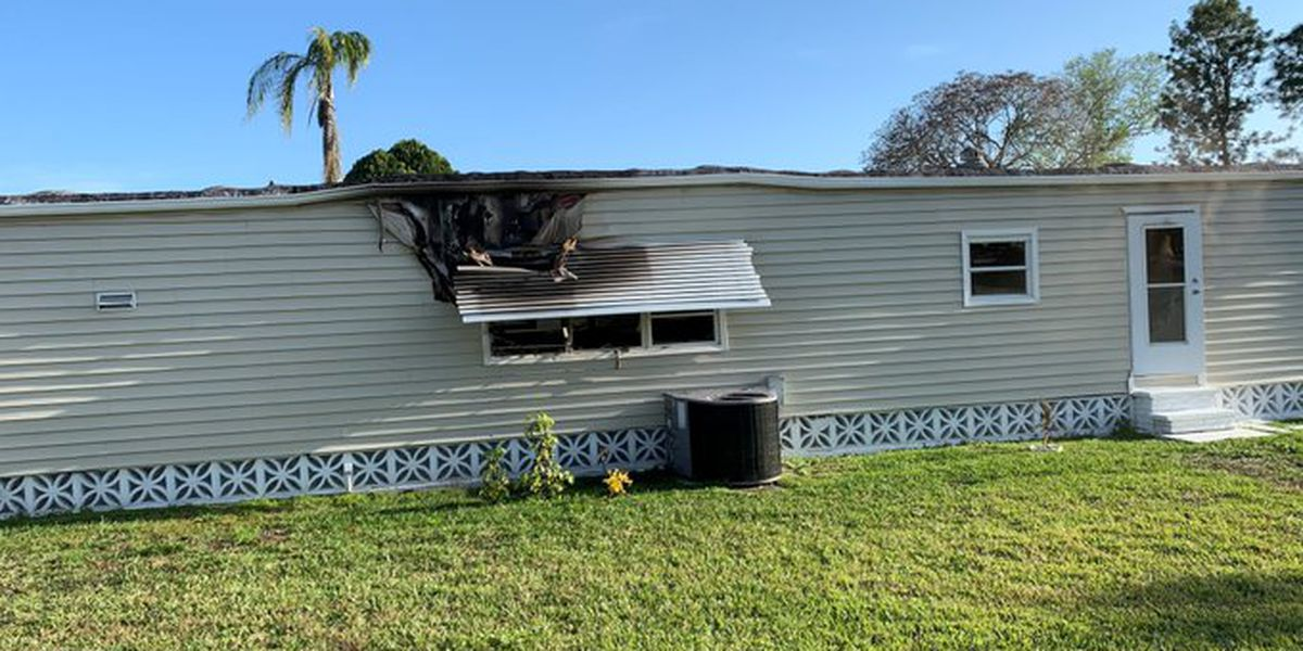 Fire rescue responds to structure fire in North Port on Wednesday afternoon