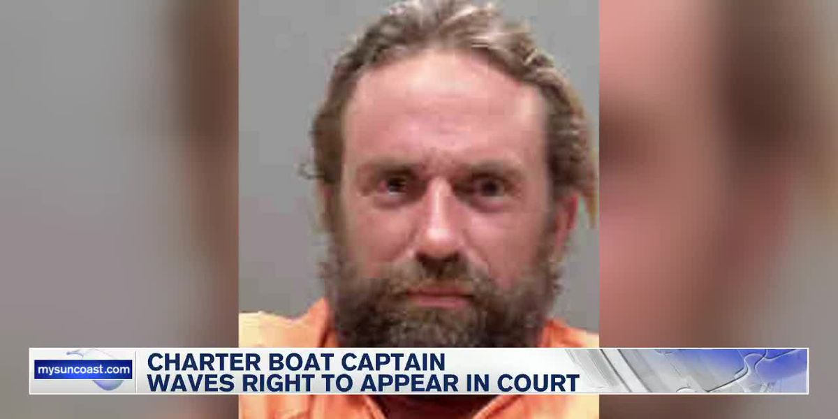 Sarasota charter boat captain waived right to attend court