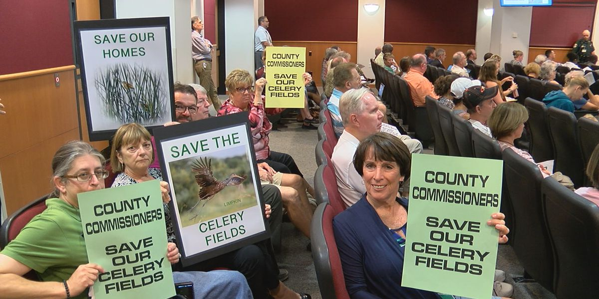 Sarasota County Commissioners decide land near the Celery Fields will be conserved