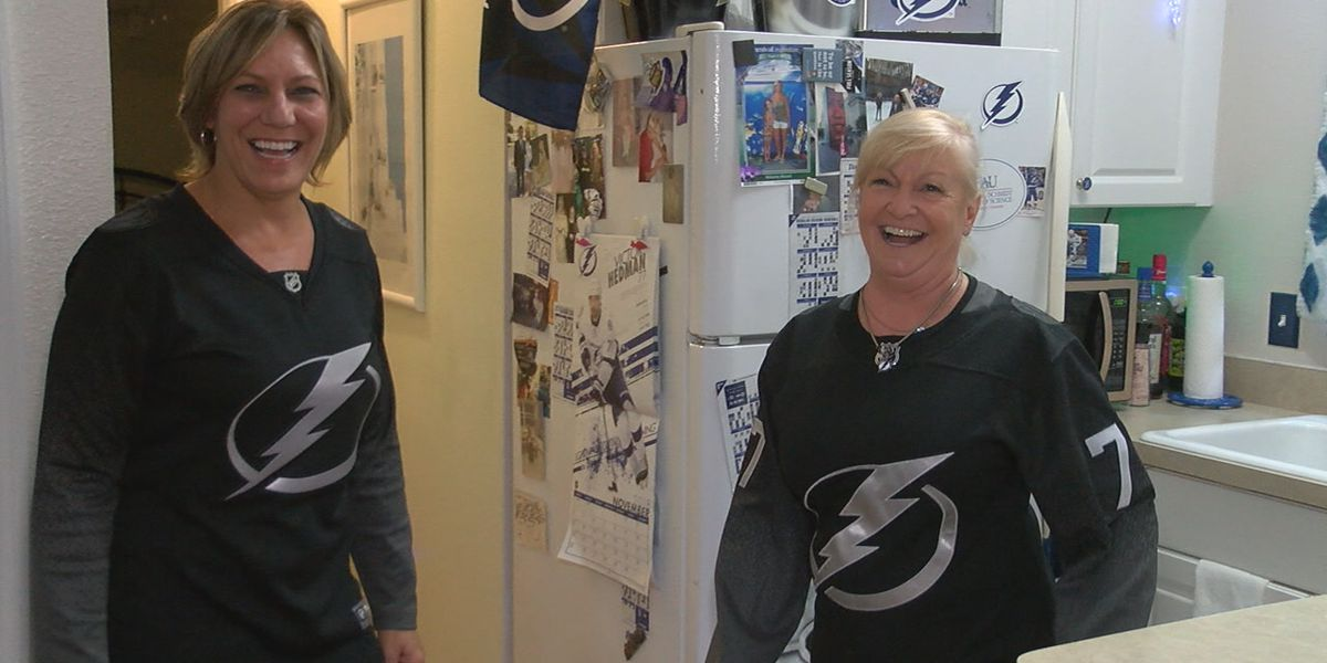 Fans on the Suncoast celebrating Tampa Bay Lightning Stanley Cup win
