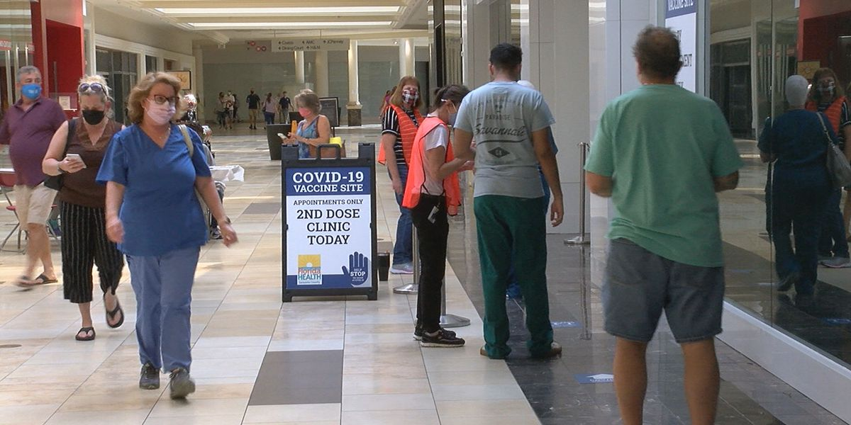 Walk-up vaccines start today at Sarasota Square Mall