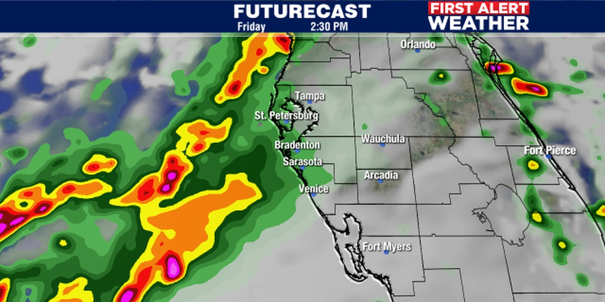 Storm system to develop in the Gulf on Friday