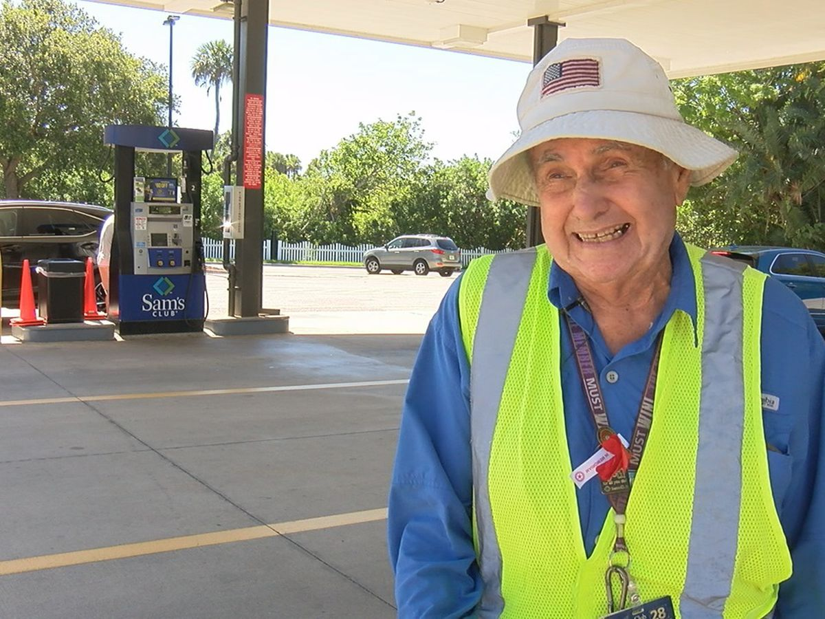 91-year-old gas attendant shares the secret to life