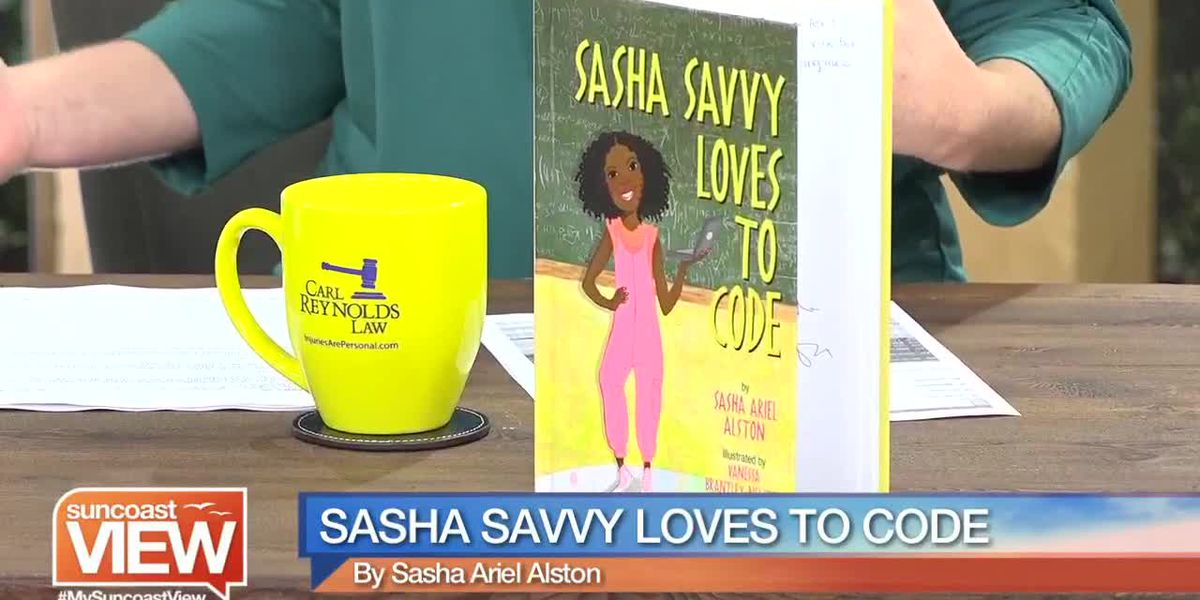 """We Talk """"Sasha Savvy Loves to Code,"""" a New Book Encouraging Girls in STEM 