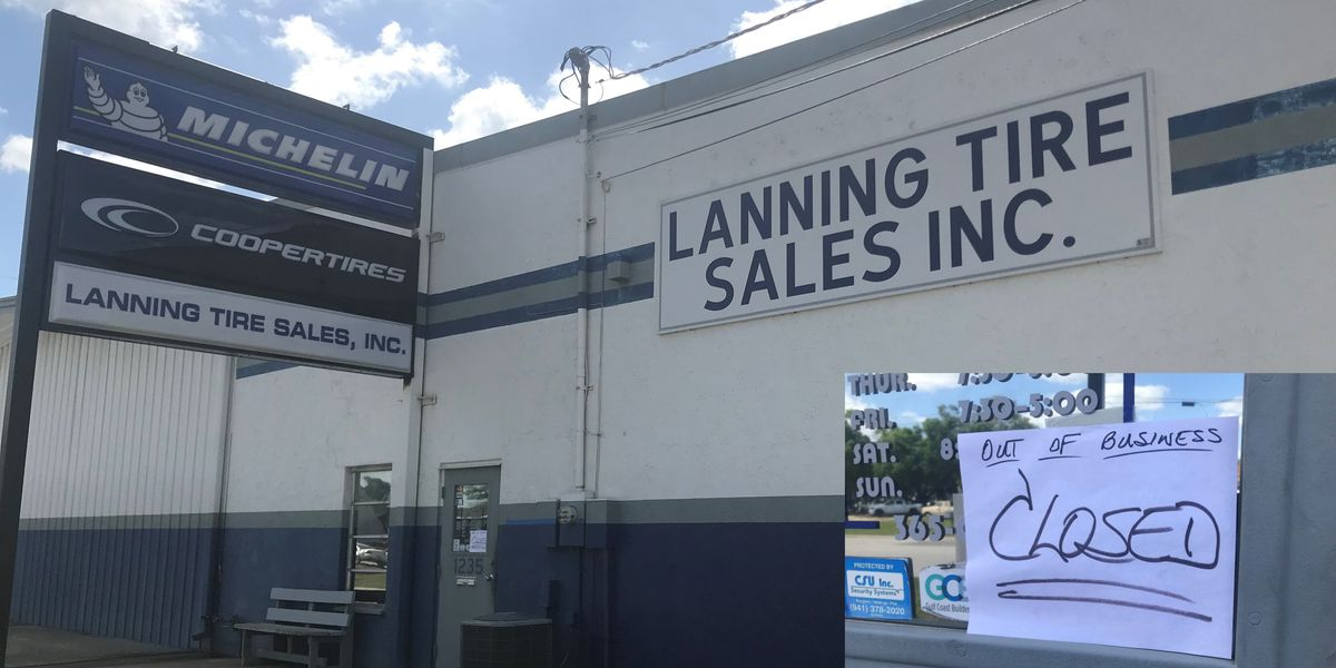 Lanning Tire closes both locations in Sarasota