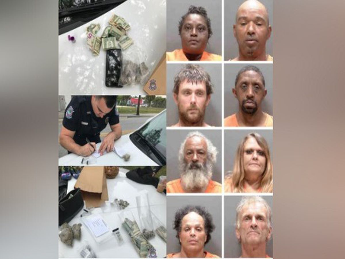 Police: Eight people arrested after allegedly selling spice near Sarasota playground