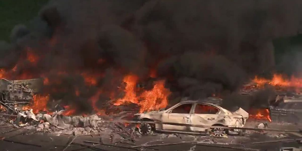 Witness reacts to fiery crash on I-70 in Colorado