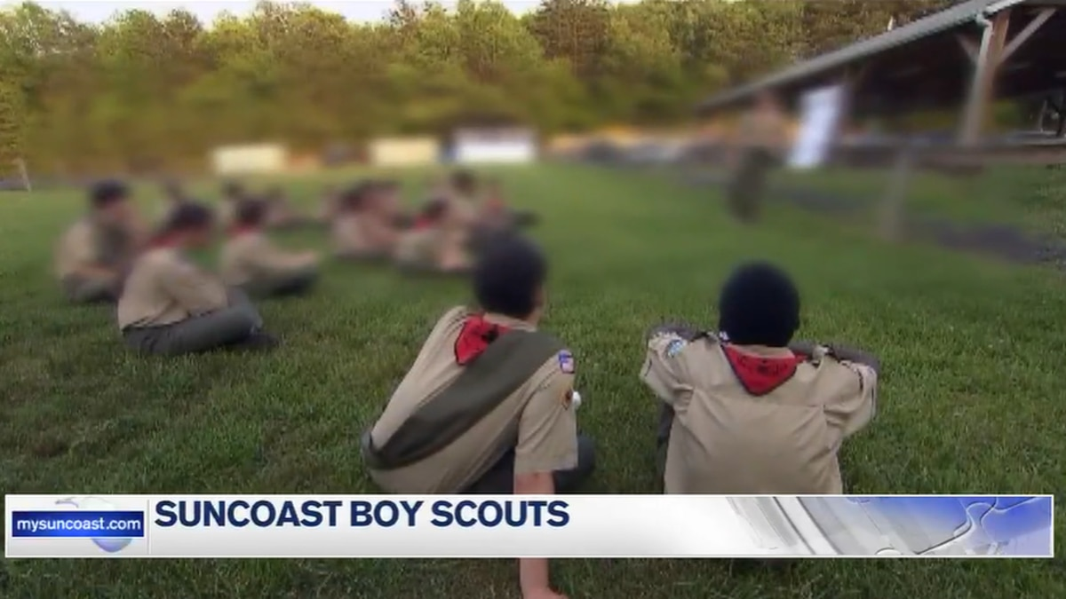 Boy Scouts of America filing for bankruptcy doesn't affect the Suncoast troops
