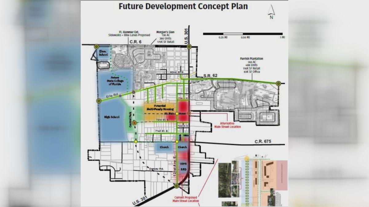 """Gas Prices In My Area >> Manatee County considering new """"Main Street"""" development ..."""