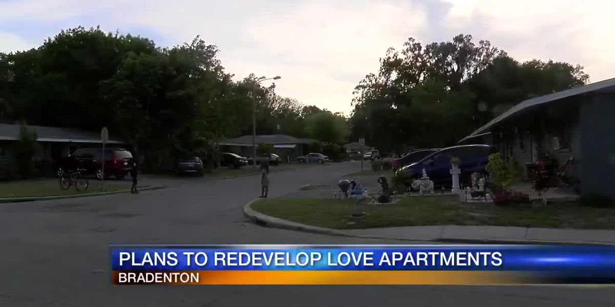 Plans to redevelop Love Apartments
