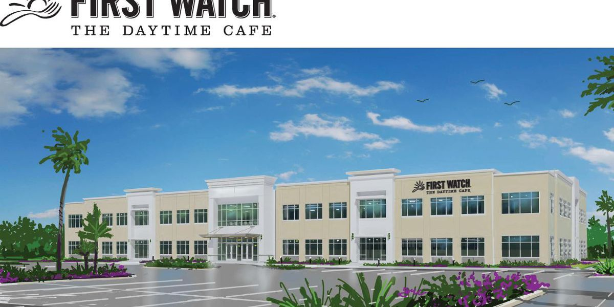 First Watch building 39,000-square foot headquarters in Manatee County