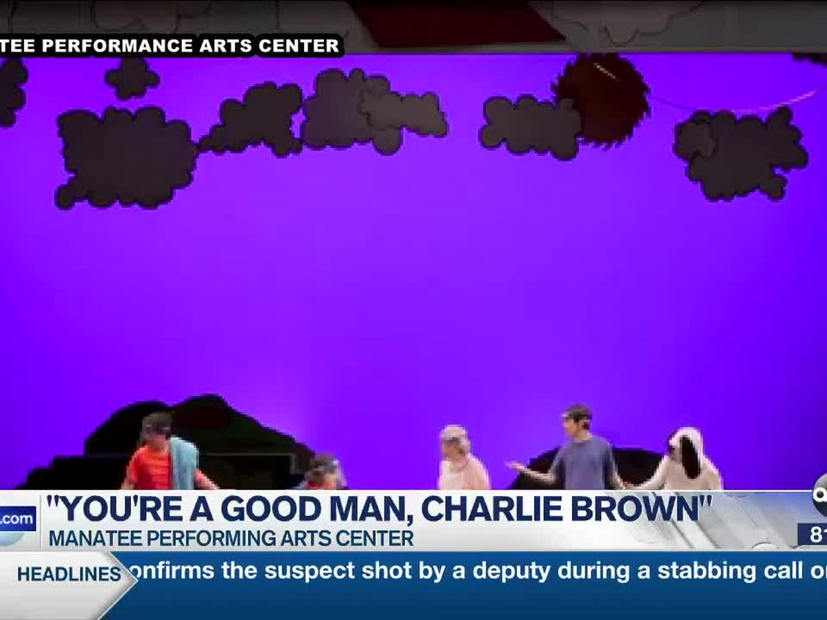Performances are back at the Manatee Performing Arts Center with classic 'You're a Good Man, Charlie Brown'